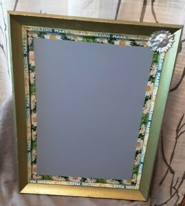 Vintage Wood Wall frame black Chalkboard  14x18 memo, menu board washi tape