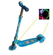 kinder Scooter Trottinette Kinderroller mit LED Trettroller Stuntscooter ...