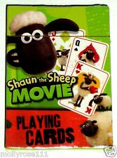 Official The Movie Shaun The Sheep Set Of Playing Cards Game Toy  Brand New