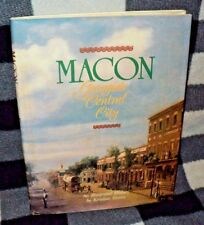 Macon Georgia's Central City by Kristina Simms hc 1989 Illustrated Photo History