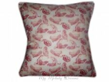 """New Designer Fabric Chicken Rooster Egg Natural Cotton Cushion Cover 16 """" x 16"""""""