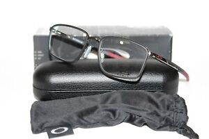 NEW OAKLEY OX3235 04 SPINDLE GUNMETAL AUTHENTIC EYEGLASSES RX 54-18-137 W/ CASE
