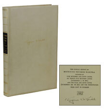 Mourning Becomes Electra ~ EUGENE O'NEILL ~ Signed Limited Edition ~ 1/550 cc