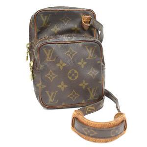 Auth LOUIS VUITTON Monogram Mini Amazon M45238 LV Crossbody Bag Brown AI2306