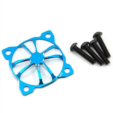 "Yeah Racing Blue ""3D Claws"" 30 X 30mm Aluminum Fan Protector YA-0478BU"