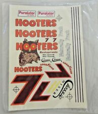 New Sealed Nascar Decals Alan Kulwicki #7 Hooters Decals