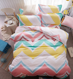 Cosy Home Bedding Set Microfiber Bed Cover Bed Sheet