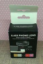 New listing 0.45X Super Wide Angle & 12.5X Macro Phone Camera Lens Cell Phone Camera Lens