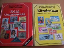 Stanley Gibbons Elizabethan and Commonwealth Stamp Catalogues. Vgc
