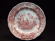 (1) Spode Archive Collection Georgian Series Girl at Well Plate