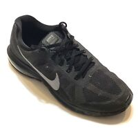 Nike Max Dynasty 2 Fitsole Mens Size 8.5 Black Athletic Running Shoes Sneakers