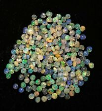 100 pcs 3 To 3.5MM Natural Ethiopian Welo Fire Loose Opal Beads Drill Beads O200