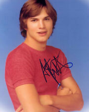 ASHTON KUTCHER 8x10 CELEBRITY PHOTO PICTURE SIGNED PREPRINT 1