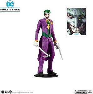 "DC Multiverse The Joker: DC Rebirth 7"" Inch Action Figure - McFarlane Toys"