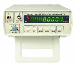 1 New YITENSEN-PAKRITE(R) High Resolution Frequency Counter w/Probe VC3165, USA
