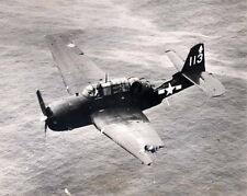B&W WWII Photo, US Navy TBM Avenger Damaged WW2 Grumman World War Two USN