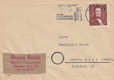 Berlin, 20 Pfg. Lortzing, MiNr. 74, auf Brief aus Berlin