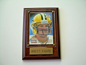 Vintage Green Bay Packers Brett Favre Plaque from the 90's