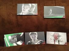 """New 5 Infinite Collection Cards, 3.375"""" by 2"""", Kpop"""