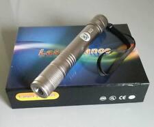 Adjustable 445 blue handheld laser pointer /bright waterproof /battery + charger