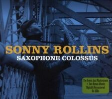 SONNY ROLLINS - SAXOPHONE COLOSSUS NEW CD