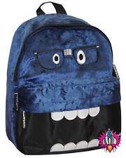 Nuevo David y Goliat Mini Azul Peluche Bolsa Mochila Escolar para el Hombro