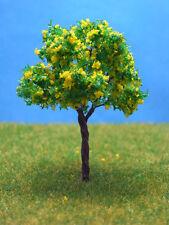 t6030YG-150pcs Scale Train Model Trees 60mm(H) TT N (Yellow&Green)