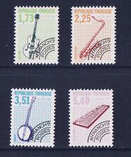 timbre France préoblitéré  musique   n° 224/27 **