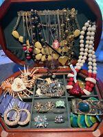 Jewelry Lot Vintage Bohemian Wholesale Brooch Necklace Bracelet Ring More JB343