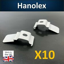 Vertical Blind Top Fix Brackets Pack of 10 For 28-30mm Headrails - British Made