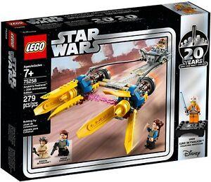 Star Wars LEGO 75258 Anakin's Podracer 20th anniversary, brand new in sealed box