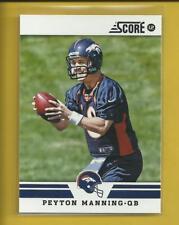 Peyton Manning 2012 Panini Score Card # 297 Denver Broncos Colts Football NFL