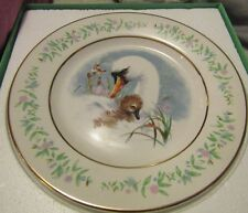 Vintage 1975 Avon Collector plate Gentle Moments Mother Swan And Baby E Wedgwood