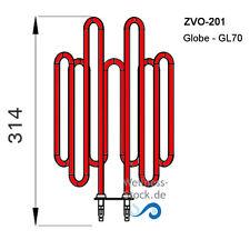 Saunaofen Globe Heizelement ZVO-201 Heizstab 2,3 kW für Harvia GL110 + GL110E