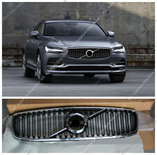 ABS Front Bumper Center Grille Grille Vent Hole Fit For VOLVO S90 2016-2018