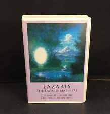 Lazaris Material Artistry Of Loving Creating & Manifesting Personal Growth Tapes