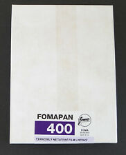 Fomapan 400 4x5 Sheet Film (50 sheet box)
