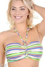FREYA BEACH CANDY PASTAL UNDERWIRE PADDED BANDEAU BIKINI TOP & BRIEF SET 30F/8F