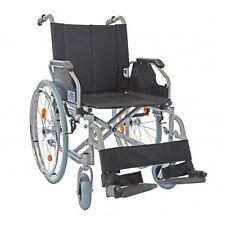 Rollstuhl / Reiserollstuhl / Transportrollstuhl / Sitzbreite: 42cm / Faltbar