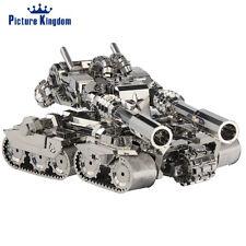 Picture Kingdom 3D Metal Puzzle Red AlertApocalypse Tank Model Kits PJ-199 Toy