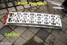 Auffahrrampe Alu Rampe antirutsch klappbar 226cm 340kg Profi Ausführung