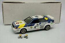 Transkit Basis Conrad 1/43 - Audi Coupé Quattro Rallye Schweden 1982 Blompqvist