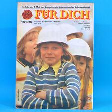 DDR FÜR DICH 17 1976 ZEKIWA Zeitz Berlin-Bohnsdorf Altentreptow Belzig Blusen