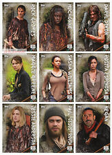 2017 TOPPS Walking Dead Season 6 - 148 Card Master Set 100 Base + 4 Chase Sets!