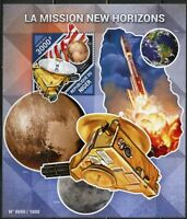 NIGER 2015 THE NEW HORIZONS MISSION SOUVENIR SHEET MINT NH