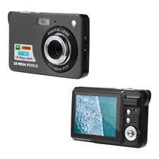 2.7HD Screen Digital Camera 18MP Anti-Shake Face Detection Camcorder Blank white