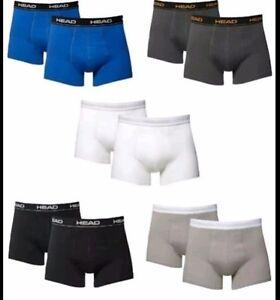 5er Pack HEAD Herren Boxershorts Shorts Cotton Stretch Men/'s Boxer S M L XL