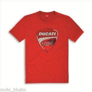 Ducati Corse Logo T-Shirt Sketch Red Shirt New Original