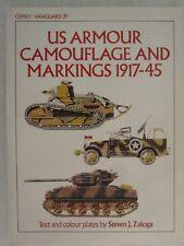Osprey - US Armour Camouflage & Markings 1917-45 (Vanguard 39)