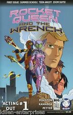 Rocket Queen And The Wrench #1 Comic Book 2015 - Space Goat Productions